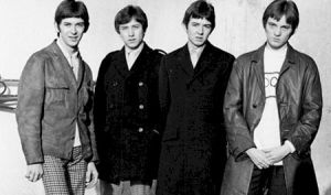 Small Faces L-R Ian MacLagan, Kenney Jones, Ronnie Lane,Steve Marriott